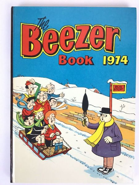 The BEEZER Book 1974 Annual Unclipped